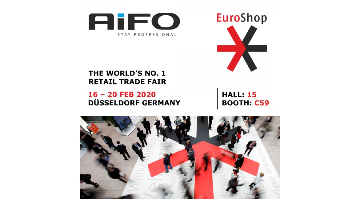 In less than a month we will see each other at the next EuroShop 2020 edition in Düsseldorf!
