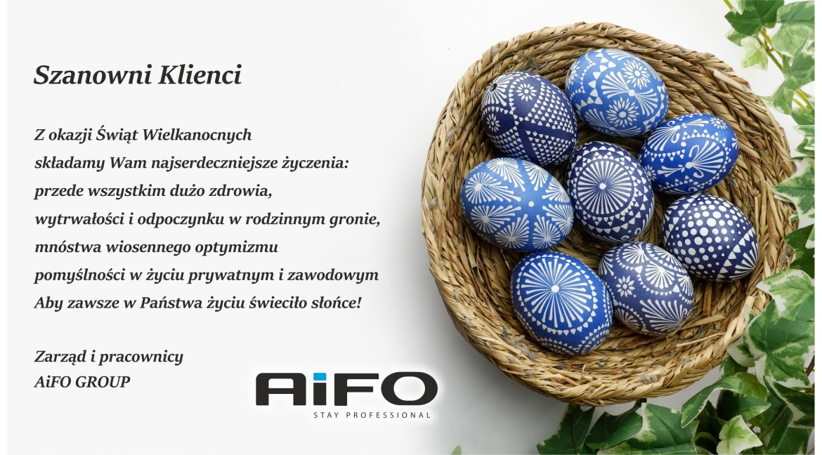 We wish you Happy Easter!